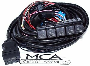 s l300 boss snow plow 13 pin harness 5 relay main truck side wiring boss plow wiring harness at reclaimingppi.co