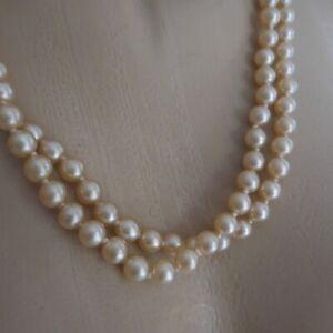 collier perle femme fantaisie