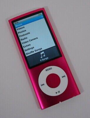 Apple iPod Nano 5th Generation Purple 8GB READ DESCRIPTION AR #2727