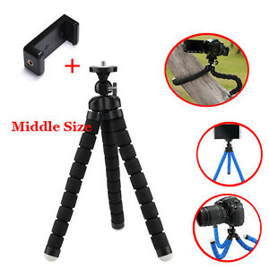 Medium-Flexible-Octopus-Tripod-Camera-Support-Stand-Clip-Bracket-Holder-Adapter