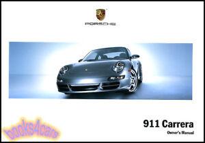 owners manual porsche 911 2007 book carrera handbook guide 07 rh ebay com 2008 Porsche 911 Turbo 2007 porsche 911 carrera 4s owners manual