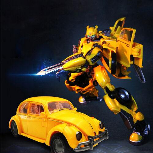 20 CM Transformers Bumblebee PVC Action Figures Robots Toys Kids Gift