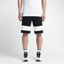 Nike sz L Men's Court Tennis Shorts Black / White NEW 715249 010