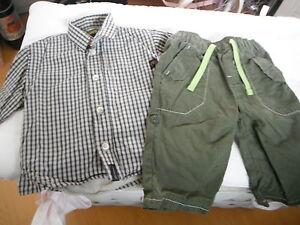 Timberland Rembourré Chemise Pantalon 3-6 Mois-afficher Le Titre D'origine