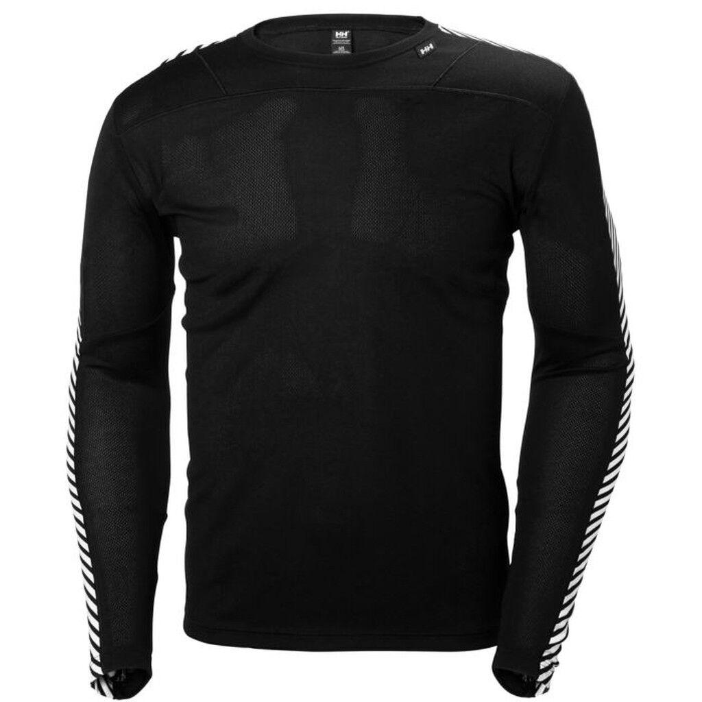 HH Helly hansen lifa Crew camisa 48300 negro hombre camisa  de función camisa bajo  al precio mas bajo
