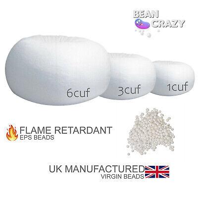 Bean Bag Booster Refill Polystyrene Beads Filling Top Up Bag Beans Balls 15 cubic feet