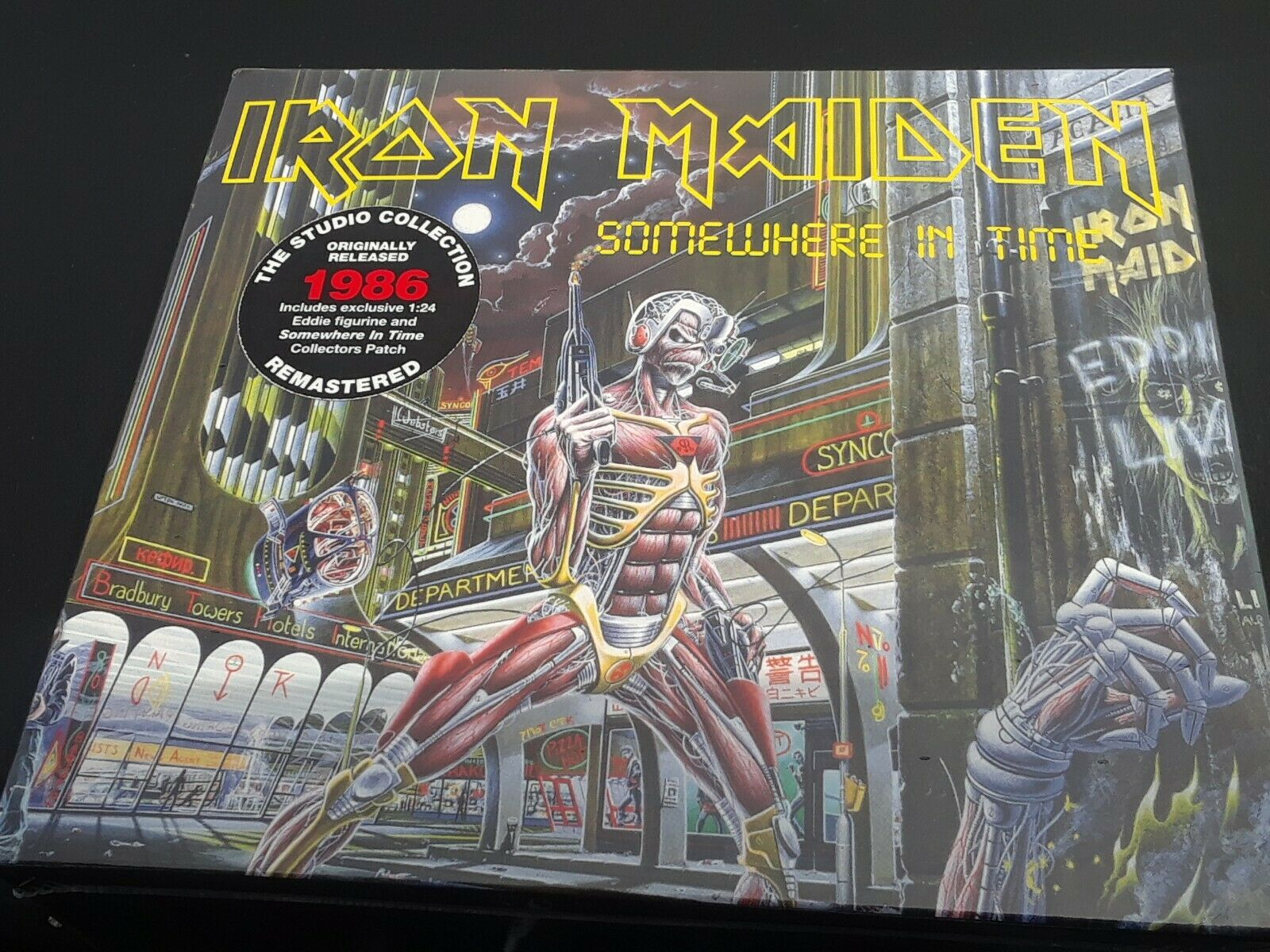 Somewhere In Time Deluxe By Iron Maiden Audio Cd 4050538427042