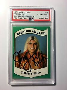 Tommy-Rich-1982-Wrestling-All-Stars-18-Series-A-PSA-DNA-Cert-Autograph-Auto-WWE