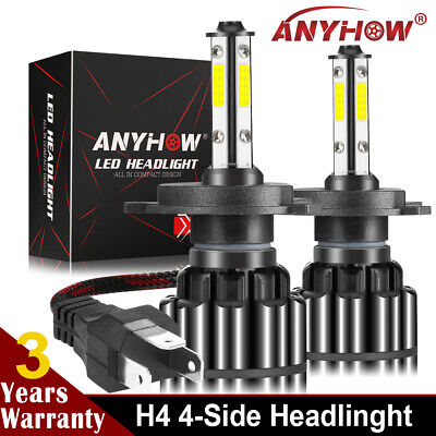 2X LED Headlight Conversion Kit Fit the Can-Am Ryker Ryker Rally Edition White