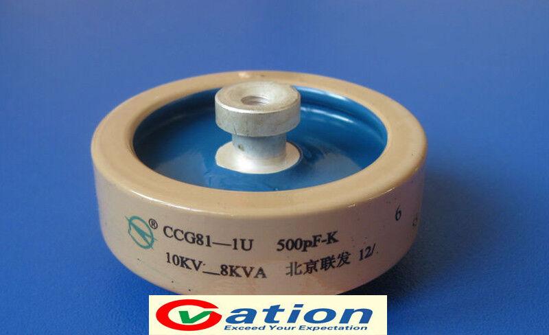 voltage Ceramic Capacitor for CCG81-3U 500PF-K 25KV 90KVA high frequency