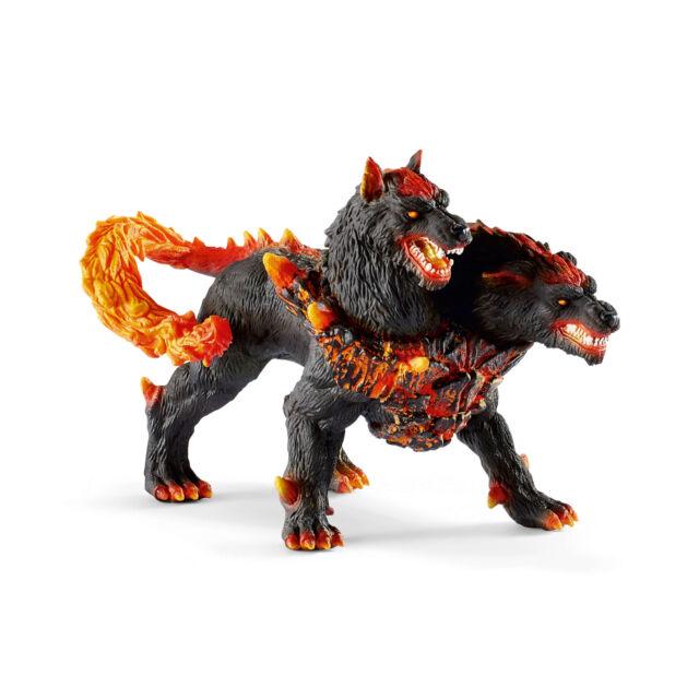 42451 SCHLEICH Hellhound  (Eldrador) Plastic Figure