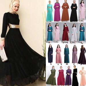 a392b8a1645c Image is loading Kaftan-Abaya-Jilbab-Islamic-Muslim-Cocktail-Women-Long-