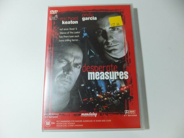 Desperate Measures - DVD - 2004 - edc