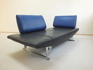 designer sofa von cor modell cirrus ledersofa ledercouch liege schlafsofa daybed. Black Bedroom Furniture Sets. Home Design Ideas