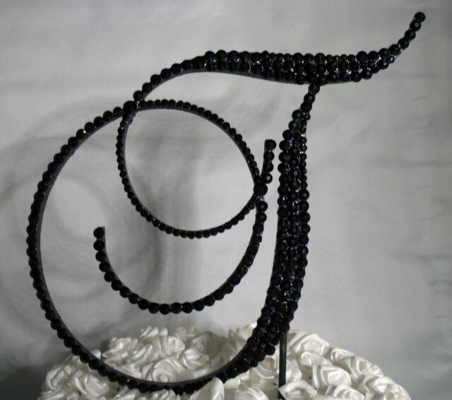 Handmade Black Swarovsk Crystals 5