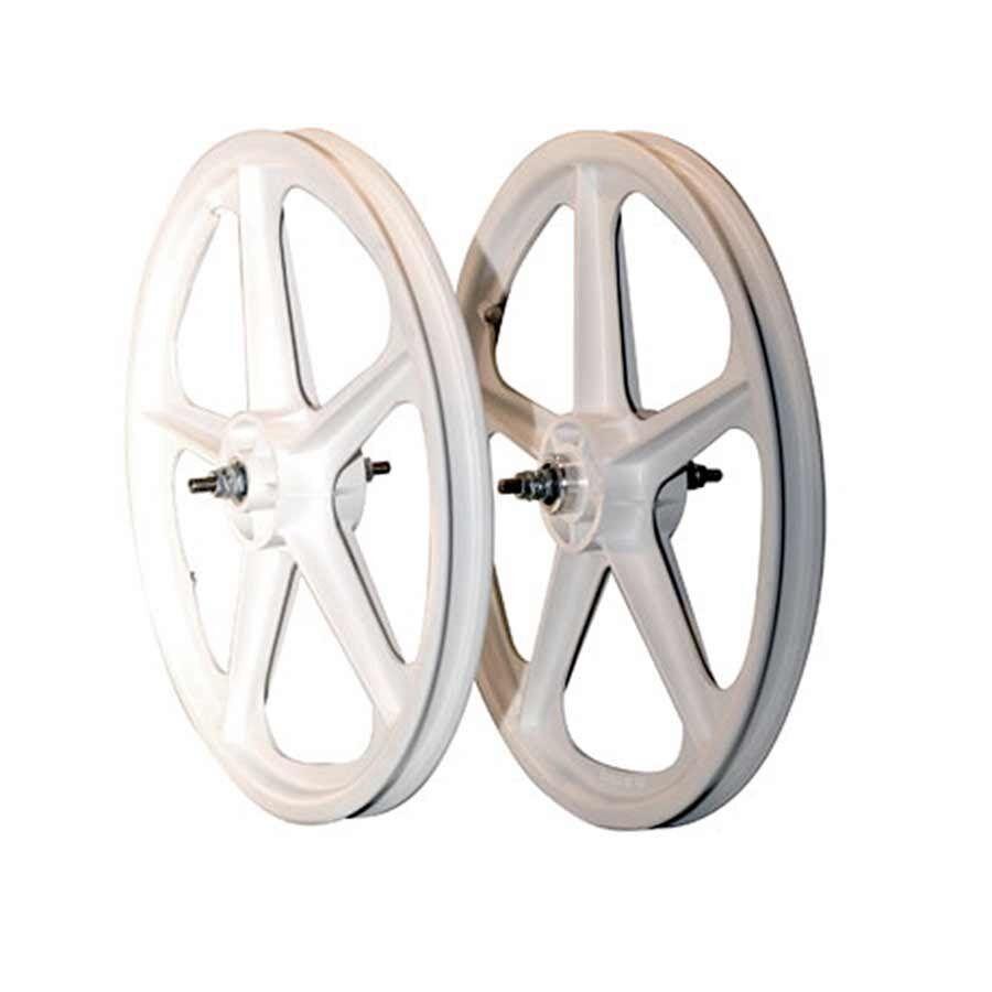 cieloway Tuff II rueda set 20X1.75 38 nutted FW 5 Spk Wh