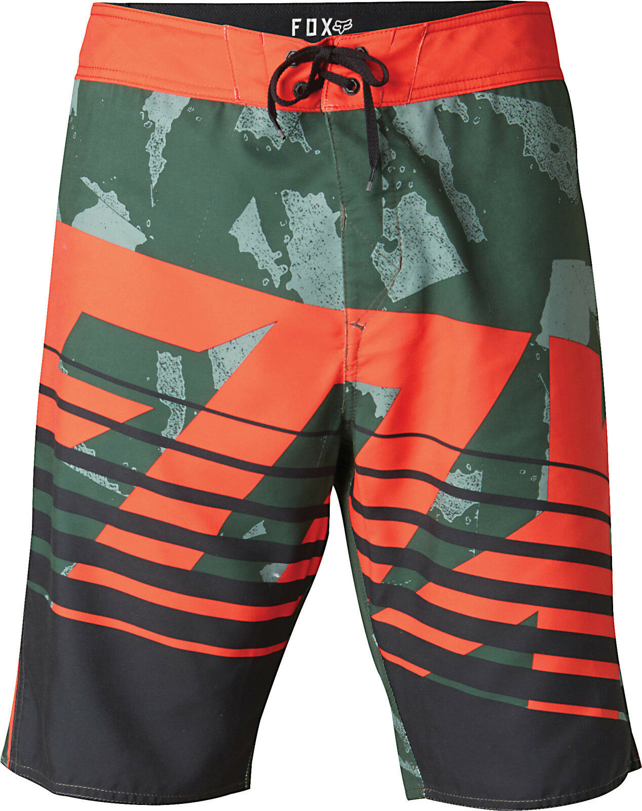 Fox Racing Savant Camo Boardshort Blood orange