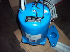 Goulds Water Technology Ws0534bf Submersible Sewage Manua 12 Hp Pump 460v 2