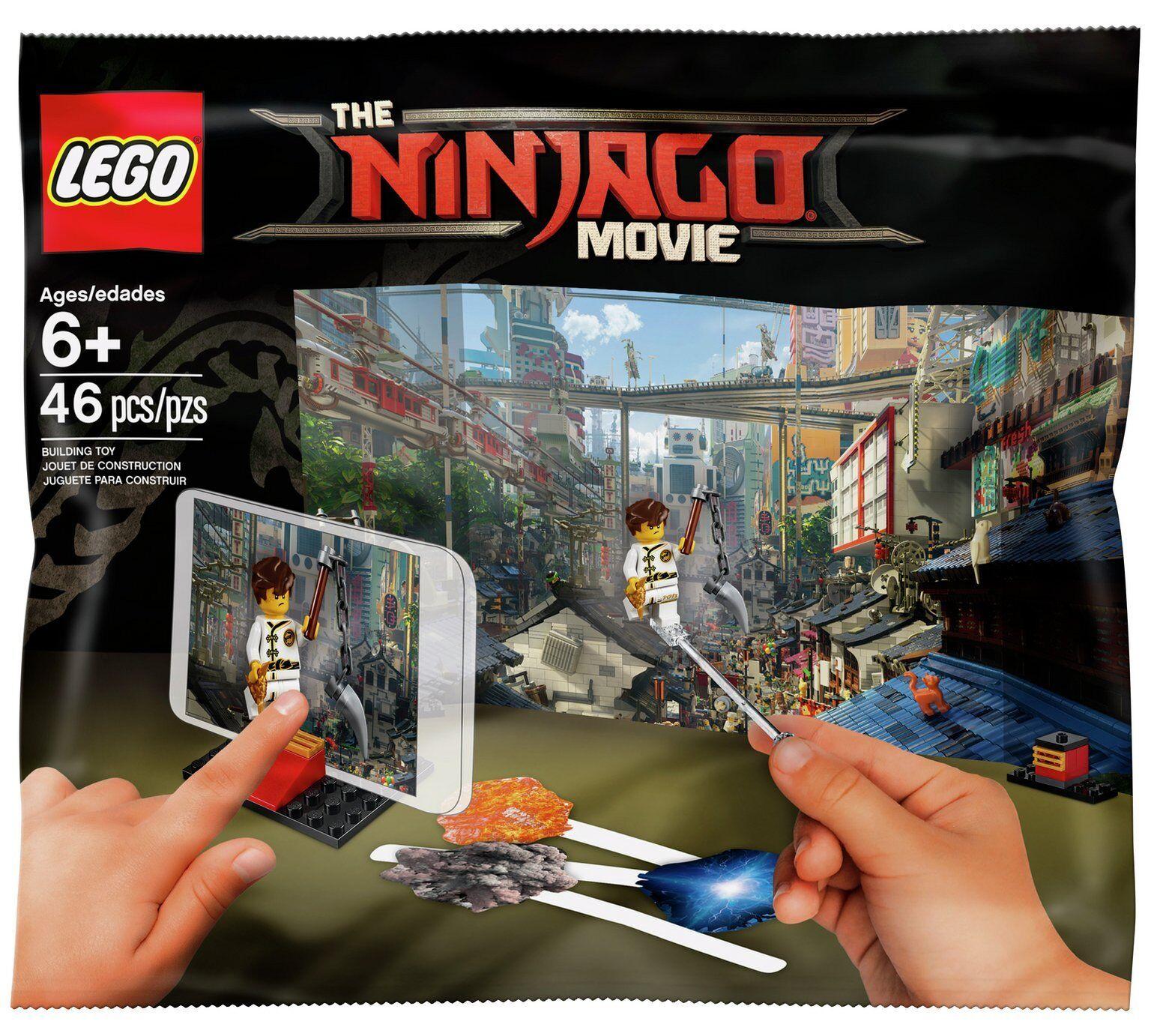 Lego 5004394 Ninjago Movie Polybag Movie Maker X 9. Brand New. FREE P+P