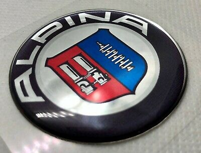 BMW Alpina Front Grill Badge Head Chrome Emblem High Quality All Bmw 1 3 4 5 6 7