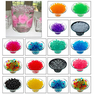 100000-WATER-EXPANSION-Perles-Soil-Bio-Gel-Ball-Crystal-Mariage-Piece-Centrale