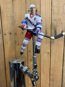 New-York-Rangers-Tap-Handle-for-Beer-Keg-Wayne-Gretzky-NHL-Hockey-White-Jersey