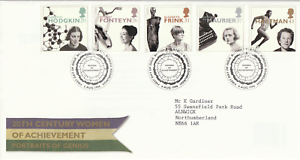 6-AUGUST-1996-WOMEN-OF-ACHIEVEMENT-ROYAL-MAIL-FIRST-DAY-COVER-BUREAU-SHS-a
