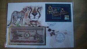 1 X Banknotenbrief Aus Aller Welt Mozambique Seien Sie Freundlich Im Gebrauch