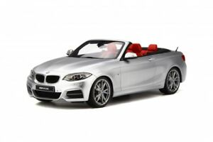 GT-SPIRIT-102-BMW-M235i-cabriolet-resin-model-car-silver-Ltd-Ed-of-500-1-18th