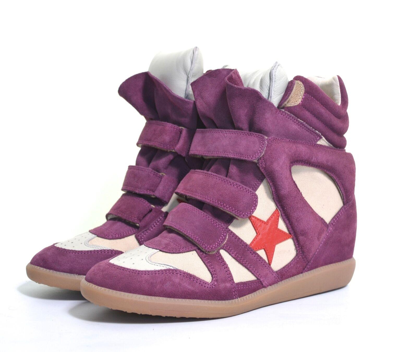 modelo más vendido de la marca Isabel Marant Bayley en cesta Americana formadores Zapatillas Us 11
