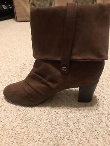 Kathy van Zeeland Scrunch Ankle Boots