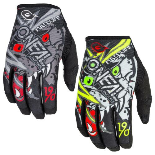 ANSWER SYNCRON Motocross Guanti-Turchese-ROSSO Motocross Enduro MX CR