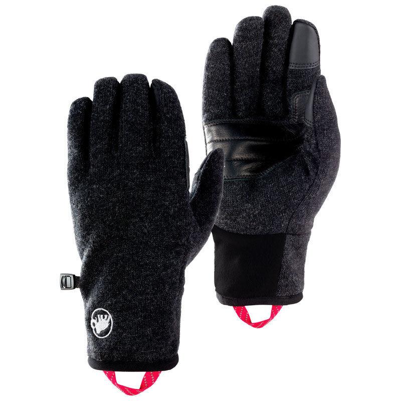 Mammut Passion Gloves Touch Screen-fähige Wanderhandschuhe aus TechnoWool