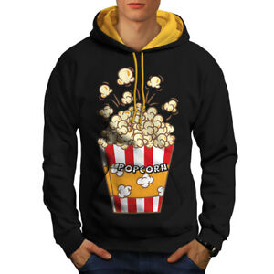à Sweat capuche Lover Black contrasté New hommes W9YDH2IE