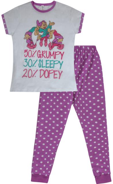 Seven Dwarfs PRIMARK NIGHTIE T Shirt DISNEY Snow White PJ Sizes 4-20 NEW