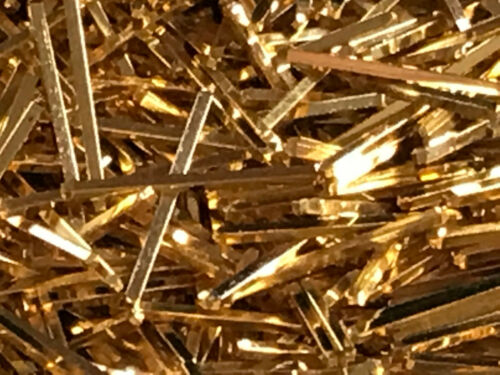 4 oz  Gold plated Pins For Scrap Gold /& Precious Metal Recovery