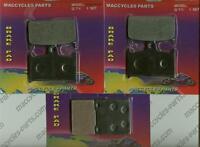 Suzuki Disc Brake Pads Gsx-r400 1990-1993 & 1995 Front & Rear (3 Sets)
