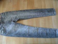 PLEASE stylische skinny Jeans Snakeprint PLE-15-8983 Gr. S w. NEU 416