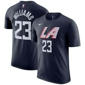 brand new 6f82b 9c52d Details about Nike 2019 Los Angeles Clippers Lou Williams City Edition  Dri-FIT Player T-Shirt