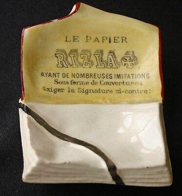 Vintage Le Papier RIZLA Cigarette Paper Ashtray Cendrier