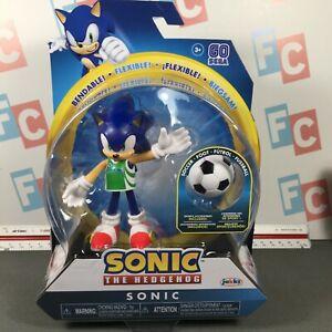 Jakks Pacific Sonic The Hedgehog Bendable Figure Series 3 Soccer Sonic Futbal Ebay