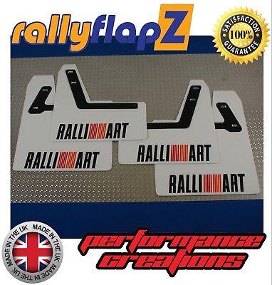 Dust Caps x4 For Ralliart Colt Evo Shogun Lancer 3D Logo Emblem Badge Covers