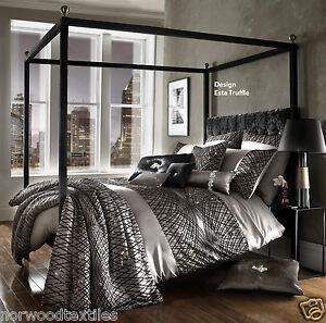 Kylie Minogue Designer Bedding Range Esta Silver,Esta Truffle,Jessa ...
