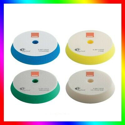 Rupes Medium Wool Polishing Pad Polishing Sponge Yellow 130-145 mm