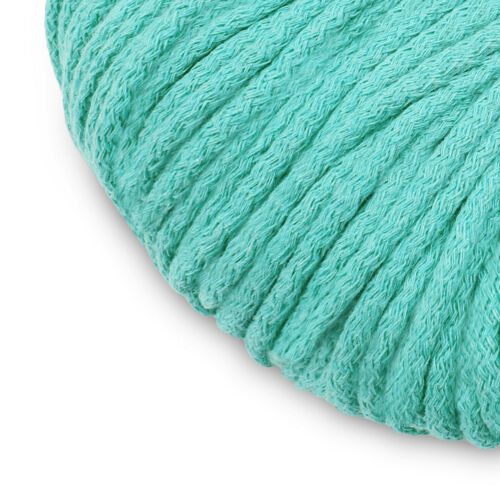5mm Cotton Rope MALACHITE 100m  BY YOU macrame cord chunky knit cord