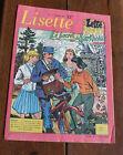 1957 Lisette N°1 Magazine jeunesse BD enfance Enfantina Journal des Filles TBE