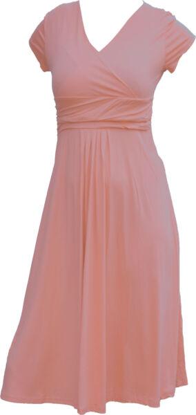 Bequemes Stillkleid Schwangerschaftskleid Shirtkleid Kleid 8 Farben S/M  L/XL