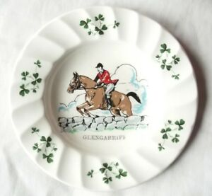 Carrigaline-Pottery-Co-Ireland-Fox-Hunter-and-Horse-Decorative-Plate-5-25-034