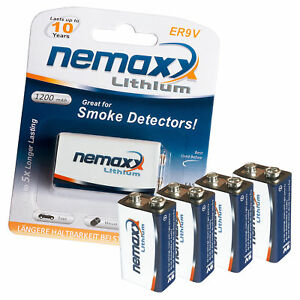4x-NEMAXX-9V-Block-POWER-PLUS-1200-mAh-Lithium-Batterie-10-Jahre-Lebensdauer