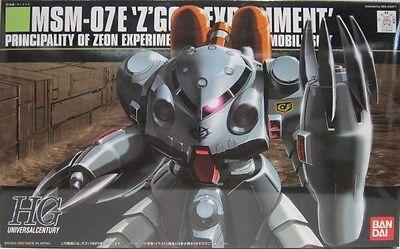 Bandai New 1/144 HGUC 039 GUNDAM MSM-07E Z'GOK EXPERIMENT Limited from